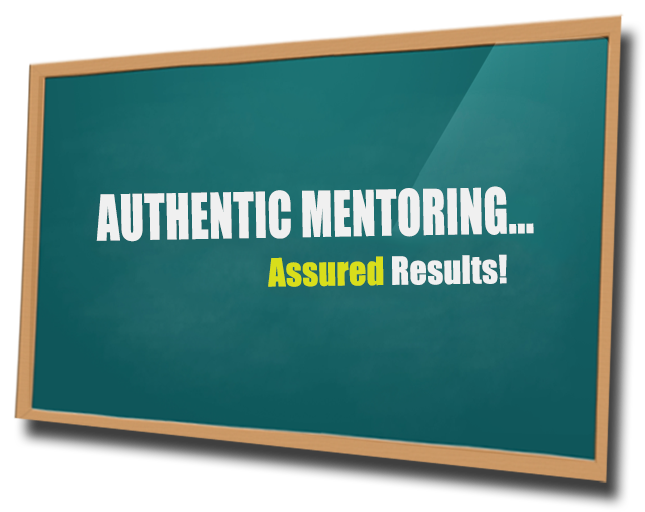 Authentic Mentoring for GMAT and beyond...Assured Results